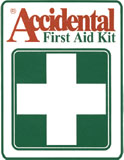 First Aid Kit Labels