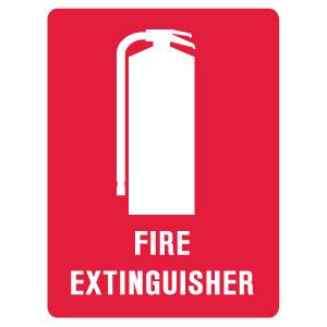 Extinguisher Labels SAV 90x125mm Pack 5