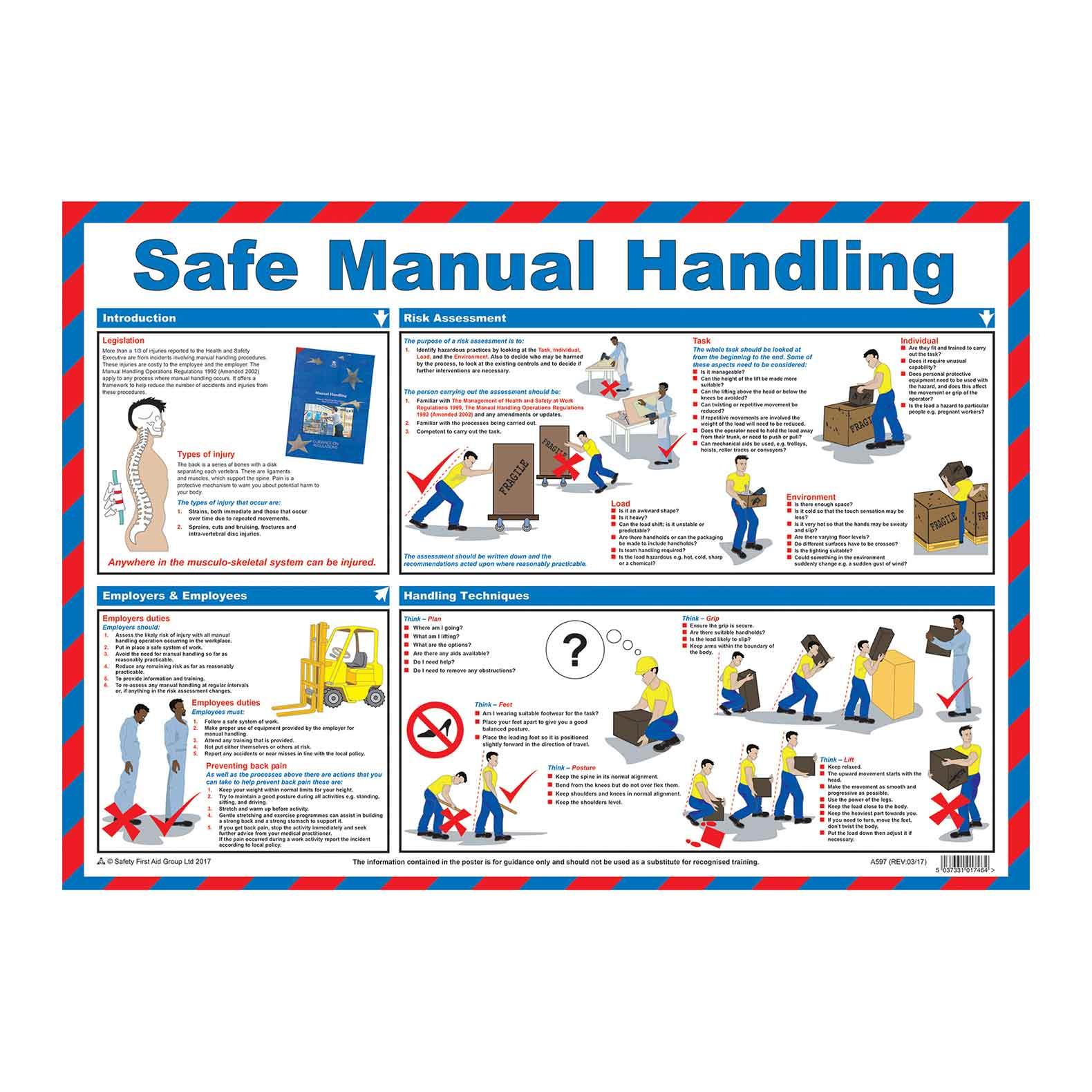 o shea manual handling training