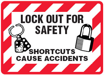 Arc Flash Amp Lockout Labels Lock Out For Safety Shortcuts