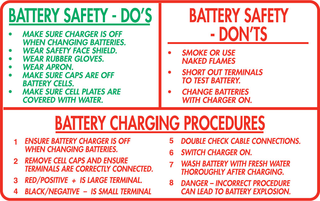Battery Safety Dos And Don Ts