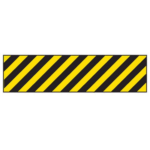black yellow stripes