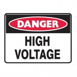 High Voltage - Ultra Tuff Signs