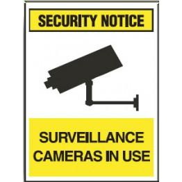 surveillance camera signs surveillance cameras in use
