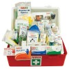 National Workplace First Aid Kit Polypropylene Portable Large Red/White