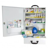 National Workplace Metal XLarge Wallmount First Aid Kit
