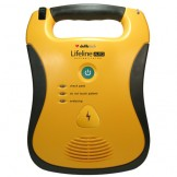 Lifeline Auto AED (Automatic External Defibrillator) and 7 Year Battery Pack