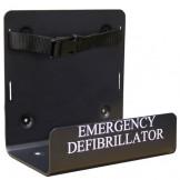 Defibrillator wall bracket