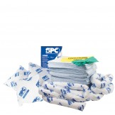Accidental Oil & Fuel Spill Kit 120 Litre Polypropylene Refill