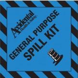 Accidental Polypropylene General Purpose Kit Bin Label FRONT