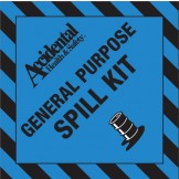 Accidental General Purpose Spill Kit  Signs