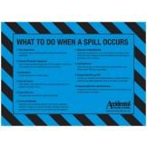 Accidental Polypropylene General Purpose Kit Bin Label SIDE