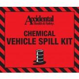 Accidental 20 ltr Chemical Spill Bag Label