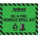 Accidental 20 ltr Oil & Fuel Eco-Friendly Spill Bag LABEL