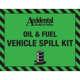 Accidental 50-60 ltr Oil Only Spill Bag LABEL