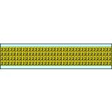Indoor Numbers & Letters Series 3400 6mm