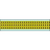 Indoor Numbers & Letters Series 3410 9mm