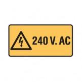 240 V. Ac W/Picto
