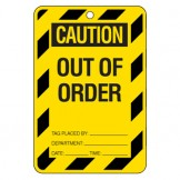 Large Economy Lockout Tags - Caution Out Of Order