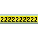 Indoor Numbers & Letters Series 3430 25mm