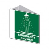 3D Sign Emergency Shower