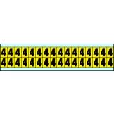Indoor Numbers & Letters Series 3420 74mm