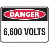 6,600 Volts