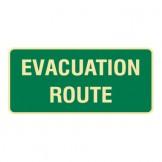 Exit & Evacuation Signs - Evacuation Route