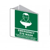 3D Sign Emergency Eyewash