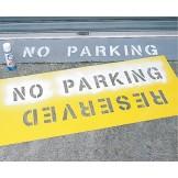 Car Park Stencils