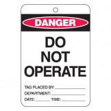 Large Economy Lockout Tags - Do No Operate