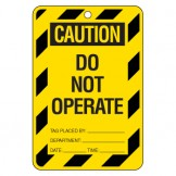Large Economy Lockout Tags - Caution Do Not Operate