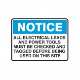 All Electrical Leads And Power Tools