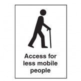 Access For Less Mobile People