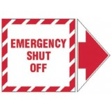 Add-An Arrow Lockout Labels - Emergency Shut Off