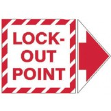 Add-An Arrow Lockout Labels - Lock-Out Point