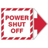 Add-An Arrow Lockout Labels - Power Shut Off