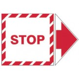 Add-An Arrow Lockout Labels - Stop