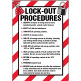 Arc Flash & Lockout Labels - Lock-Out Procedures..