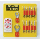 10-Lock Board