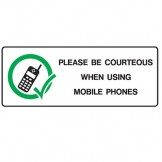 Be Courteous When Using Mobile Phones