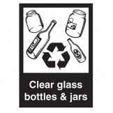 Clear Bottles And Jars