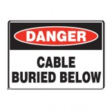 Cable Buried Below