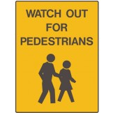 Car Park Station Signs - Watch Out For Pedestrians