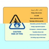 Caution Risk Of Fire