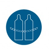 Chain Cyliders Pictogram