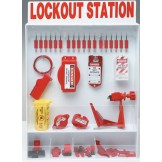 Combination Wall-Mount Lockout Station