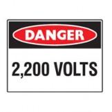 2,200 Volts