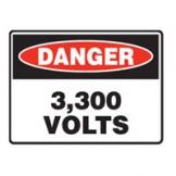 3,300 Volts