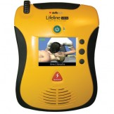 Defibrillator Lifeline View With LCD Screen + Pads